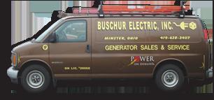 Buschur Electric Service Truck